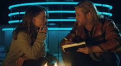 Thor and Jane Foster.