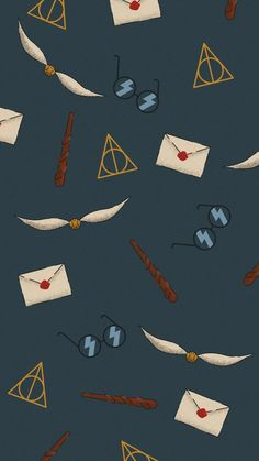 I made this Harry Potter wallpaper for my phone.