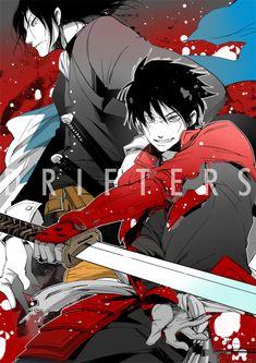 Drifters (Manga) -Hijikata Toshizou- -Shimazu Toyohisa- -