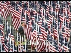 You're a Grand Old Flag Song- Great Visual images to introduce the study of the United States Flag.  Recommended by Charlotte's Clips