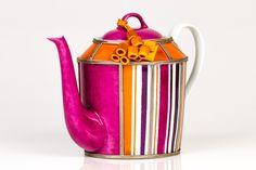 Orange Tassel Tpot   T2 Tea