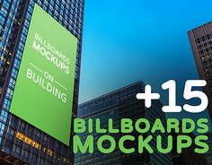 """Check out new work on my @Behance portfolio: """"Billboards Mockups on Building Vol.2"""" http://be.net/gallery/44997285/Billboards-Mockups-on-Building-Vol2"""