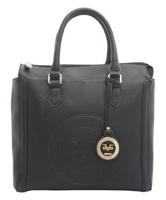Look at this Versace 1969 Black Milan Satchel on  zulily today! Sac À Main 31dccd7fbb7