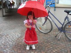 Our little Juergens Girl is ready for #Oktoberfest #Columbus rain or shine!