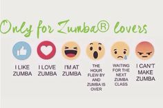 Only for Zumba lovers ❤️