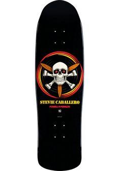 Powell-Peralta Caballero-Propeller-Fun-Shape, Deck, black Titus Titus Skateshop…