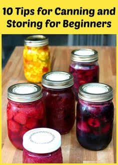 #Canning and Storing for Beginners