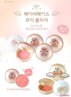 It's SKIN Baby Face Petit Blusher No.03 Romantic Rose <3 Korean make up