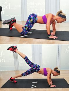 Sculpt Dancer's Legs Like Julianne Hough With These 4 Moves: The reason that the celebrity client list of Tracy Anderson, who's currently a spokesperson for Scünci, continues to tack on new names is the toned and lean results clients achieve through her vigorous dance-inspired classes.