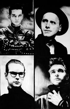 Depeche Mode. My first concert when I was 10yrs old. <3 <3 <3
