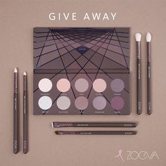 """Taupe is the new black! Win 1 out of 10 exclusive ZOEVA En Taupe Palettes including the matching brush set. To enter our worldwide Give Away you will need…"""