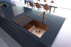Exceptional Kitchen Remodeling Choosing a New Kitchen Sink Ideas. Marvelous Kitchen Remodeling Choosing a New Kitchen Sink Ideas. Single Bowl Kitchen Sink, Kitchen Taps, New Kitchen, Kitchen Decor, Kitchen Mixer, Kitchen Ideas, Order Kitchen, Hidden Kitchen, Brass Kitchen