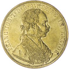 Franz Joseph I. 1848 - 1916 4 Dukat 1912 Gold, Kaiserreich