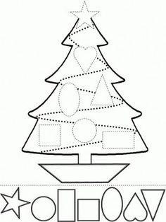 imagenes para colorear de navidad para niños