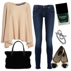 Comfortable Casual Chic Outfit