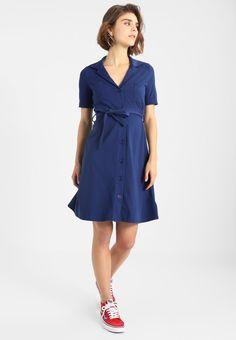 mint&berry Sukienka z dżerseju - medieval blue - Zalando.pl