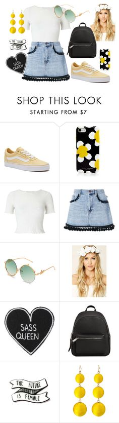 """""""Summers Day"""" by chalotteleah on Polyvore featuring Vans, Marc Jacobs, Miss Selfridge, Forever 21 and MANGO"""