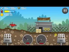 Hill Climb Racing With Jeep On  Boot Camp