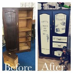 A Great Example Of What You Can Do With Unique Options Furniture & Decor Paint & Transfer Fluid.