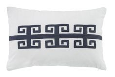 ee6250b639 Amadeo Pillow in Navy by Ashley