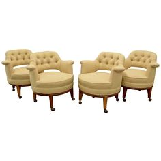 Four Maurice Bailey Chairs for Monteverdi Young, 1960s