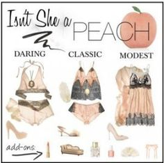 Peach is an often overlooked color that looks gorgeous on almost all skin tones! Peach is soft, feminine, elegant and versatile! Your CT Boudoir Photographer, Beth Claire, LOVES peachy tones because they look gorgeous on everyone! Boudoir Photos, Boudoir Photographer, Boudior Outfits, Nyc, Photoshoot Inspiration, Polyvore Fashion, San Diego, Sexy, What To Wear