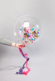 DIY::Confetti Balloons