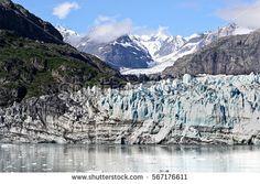 Glacier of Glacier National Park, Alaska