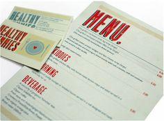 Restaurant Design-menu