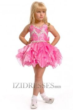 Flower Girls Dresses - Wedding Party Dresses at IZIDRESSES.com