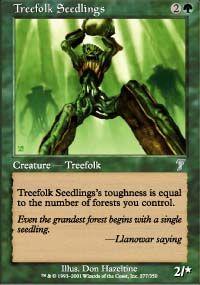 4x Deadwood Treefolk x4 MTG