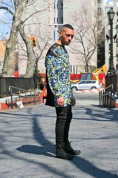 Top: Roberto Piqueras, Jeans: Standard Cloth, Boots: Urban  Chris, 23, NY chris-smith38.tumblr.com/