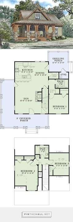 Craftsman Style House Plan - 3 Beds 2 Baths 1374 Sq/Ft Plan #17-2450... - a grouped images picture - Pin Them All https://www.houseplans.com/plan/1374-square-feet-3-bedrooms-2-bathroom-country-house-plans-0-garage-35856#specifications