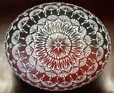Bordovočierna pštrosia kraslica, Veľkonočné dekorácie | Artmama.sk Decorative Bowls, Origami, Plates, Tableware, Home Decor, Scrappy Quilts, Licence Plates, Dishes, Dinnerware