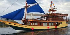 Luxury Phinisi Boat Komodo, Sailing Ships, Boat, Luxury, Dinghy, Boats, Tall Ships, Ship