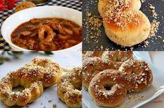 4 RETETE DE MUCENICI Bagel, Doughnut, Hamburger, Bread, Desserts, Food, Tailgate Desserts, Deserts, Brot