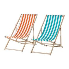 A Mysingo Beach Chair with a beechwood frame and washable fabric sling, available in assorted colors, is $24.99 from Ikea.