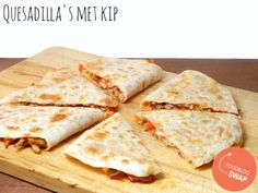 Quesadilla's met kip