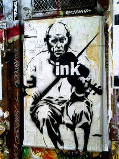 Street Art By Ink - New York City (NY)