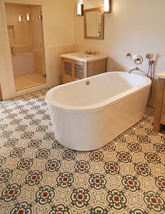 Mediterranean inspired floor tile   Exquisite Surfaces