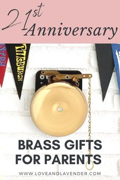 Here at Love & Lavender, we wholeheartedly ascribe to the view that every year of marriage deserves to be honored. For this anniversary, you could also gift your parents to show gratitude towards them. Check out these 21st Anniversary Brass Gifts for Parents. Read this now! #anniversary #anniversarygifts #gifts #giftsforfamily #anniversary #romanticgifts #anniversarygifts #21stanniversary