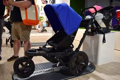 What!!! Orbit Baby has a jogging stroller! Brand new this summer. The Orbit Baby O2 is the company's first jogging stroller. Its stroller's seat moves back and down with just one click to convert from an everyday stroller into a jogger — the seat can also be placed in a rear-facing position so kids can face their parents. The frame ($600) fits any Orbit seat but can be bought as a whole system for $900. Expect it Summer 2015.                  Image Source: