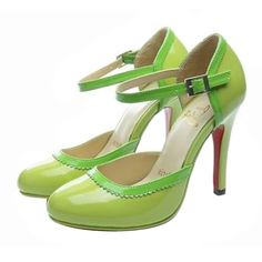 Green Louboutins. Someday maybe if I win the lottery.