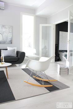 #livingroom #lounge #tvroom #drawingroom #design #interiordesign #home #homedecor Monochrome Interior, Black And White Interior, Gray Interior, Minimalist Interior, Contemporary Interior, Beautiful Interior Design, Interior Design Inspiration, Home Interior Design, Design Moderne
