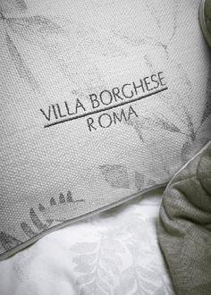 Riviera Maison Villa Borghese cushion kussen 30 x 90 cm piping Silver grijs dekbedovertrek bladeren slaapkenner theo bot