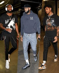 "LEAGUE FITS on Instagram: ""Rhude Awakening."" Nba Fashion, Fashion Night, Look Fashion, Fashion Types, Junior Fashion, Fashion Black, Streetwear Mode, Streetwear Fashion, Jordan Outfits"