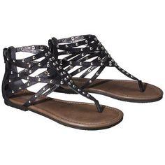 Target : Women's Mossimo Supply Co. Odella Gladiator Stud Sandal - Black : Image Zoom