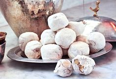 Iraqi taffy (Mann al-Sama) Recipe, Manna from Heaven, from Biblical story