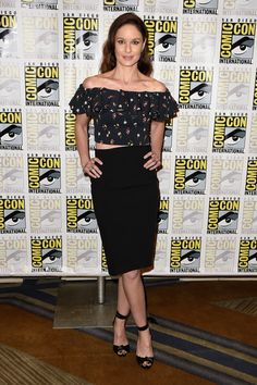 """Actress Sarah Wayne Callies attends the press line for the Fox Action Showcase with """"Prison Break"""" and """"24: Legacy"""" at Hilton Bayfront on July 24, 2016 in San Diego, California."""