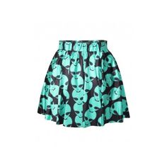 Blue Sexy Ladies Aliens Printed Cool Pleated Skirt ($14) ❤ liked on Polyvore featuring skirts, bottoms, sexy skirt, blue skirt, knee length pleated skirt, blue knee length skirt en pleated skirt